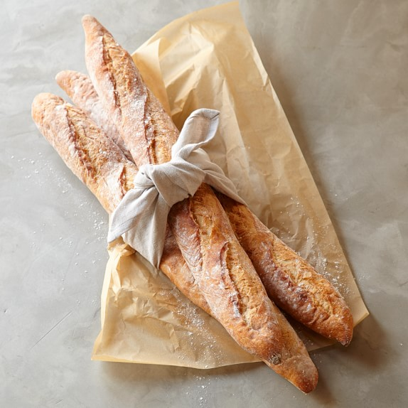 Baguette Loaves, Set of 3