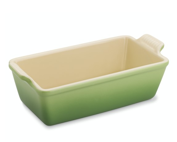 Le Creuset Heritage Stoneware Loaf Pan, Small, Palm
