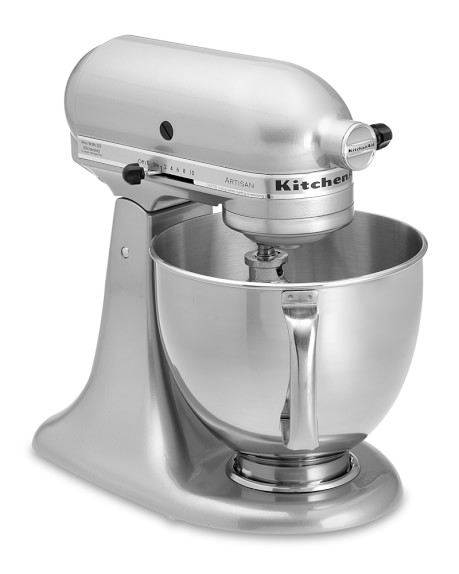 KitchenAid® Artisan Stand Mixer, Metallic Chrome