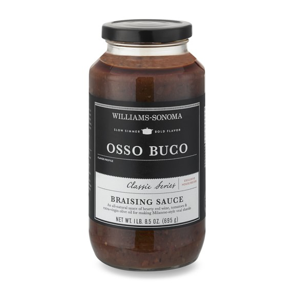 Williams Sonoma Braising Sauce, Osso Buco