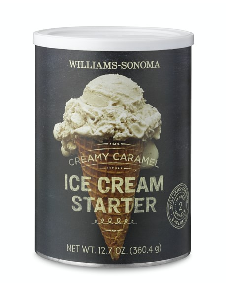 Williams Sonoma Creamy Caramel Ice Cream Starter