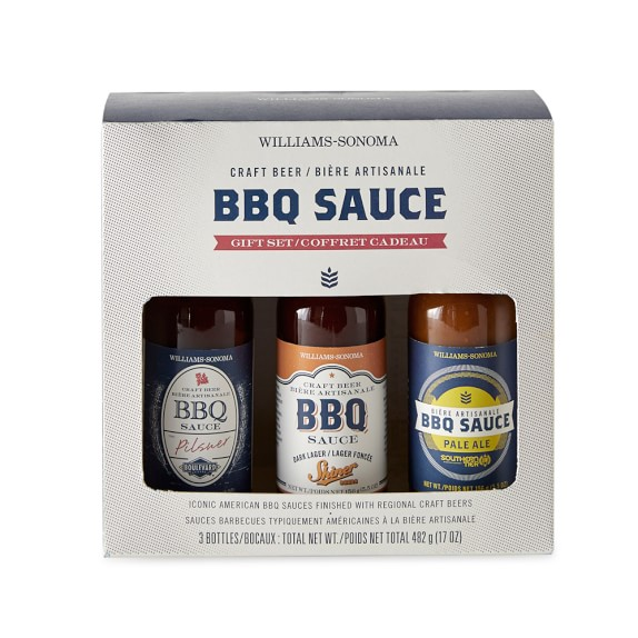 Willimas-Sonoma Craft Beer BBQ Sauce Set