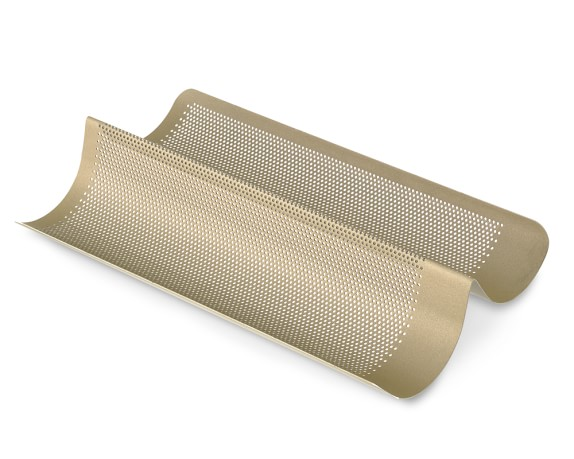 Williams Sonoma Goldtouch® Nonstick Perforated French Bread Pan