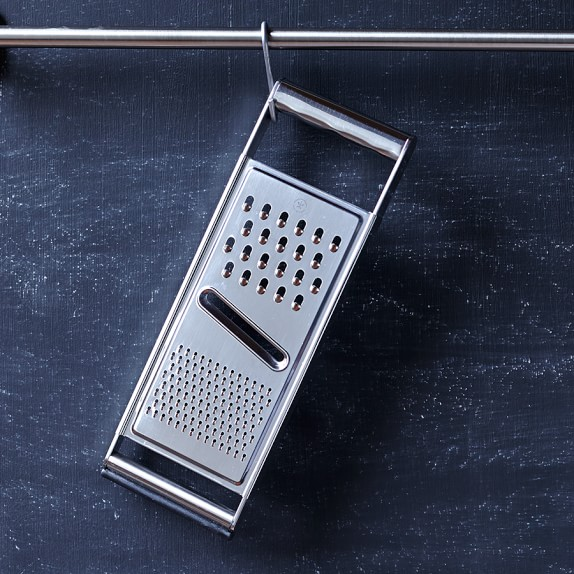 Williams Sonoma Open Kitchen Stainless-Steel Dual Grater