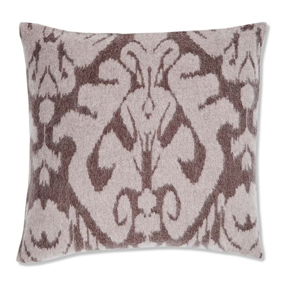 Williams Sonoma Novelty Patterned Jacquard Cashmere Pillow Cover, 20