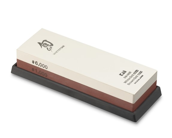 Shun 1,000/6,000-Grit Combination Whetstone