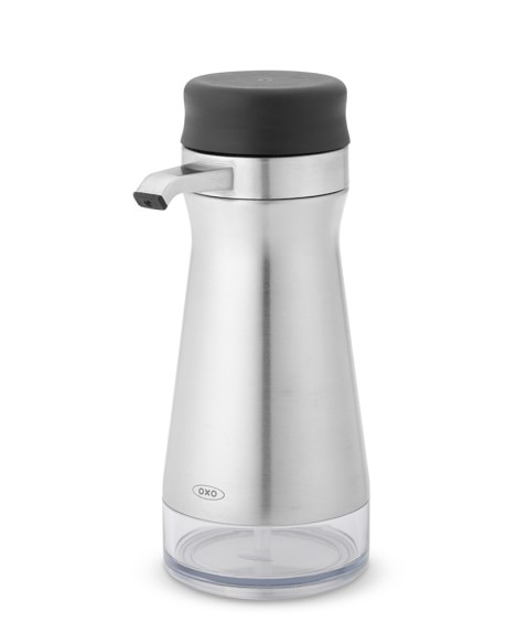 OXO Stainless-Steel Soap & Lotion Dispenser