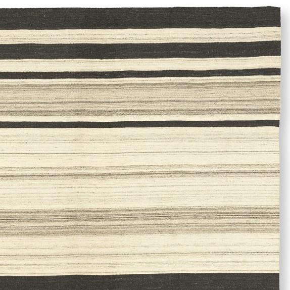 Saddle Blanket Dhurrie Variegated Rug Swatch
