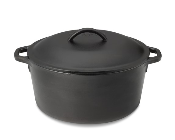 Lodge Cast Iron Dutch Oven, 5-Qt.