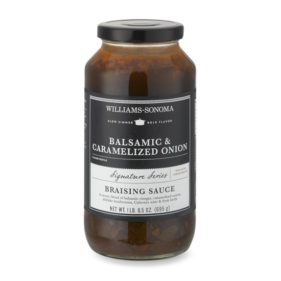 Williams Sonoma Braising Sauce, Balsamic & Carmelized Onion
