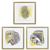 Watercolor Abstracts, Set of 3