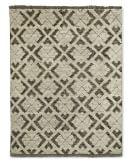 Kuba Hand-Knotted Moroccan Rug, 8x10', Natural