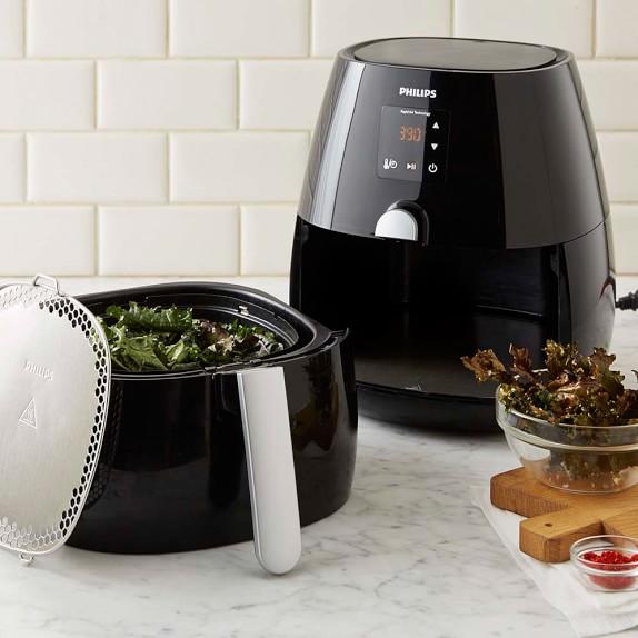 Philips Viva Digital Airfryer with Variety Basket, Black
