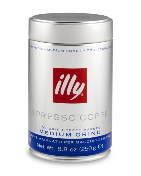 Illy Espresso, Medium Roast, Ground Coffee