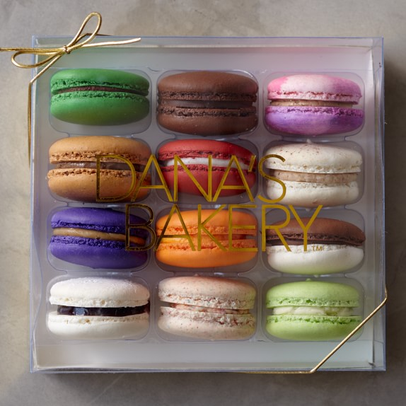 Dana's Bakery, Assorted Macaron Collection, Set of 12