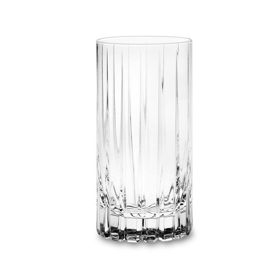 Dorset Crystal Highball Glasses, Set of 4