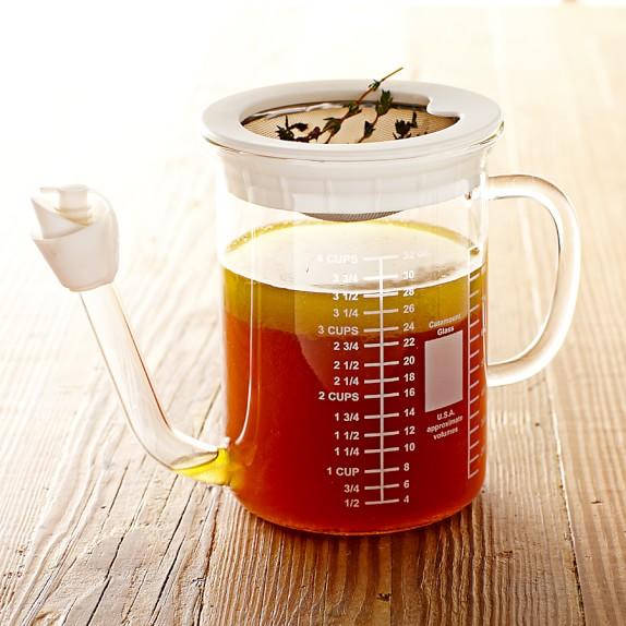 No Spill Gravy Separator, 4-Cup