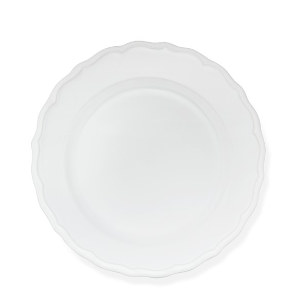 Alexia Salad Plates, Set of 4, White