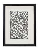 Black & White Graphic Sketch, V