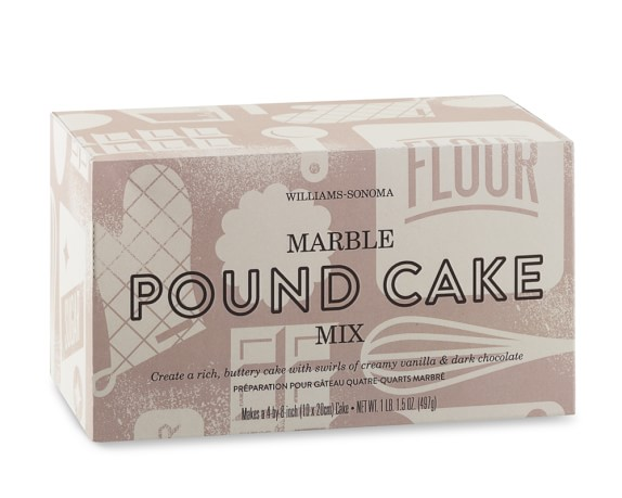 Williams Sonoma Marbled Pound Cake Mix