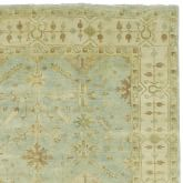Surf Spray Oushak Rug Swatch