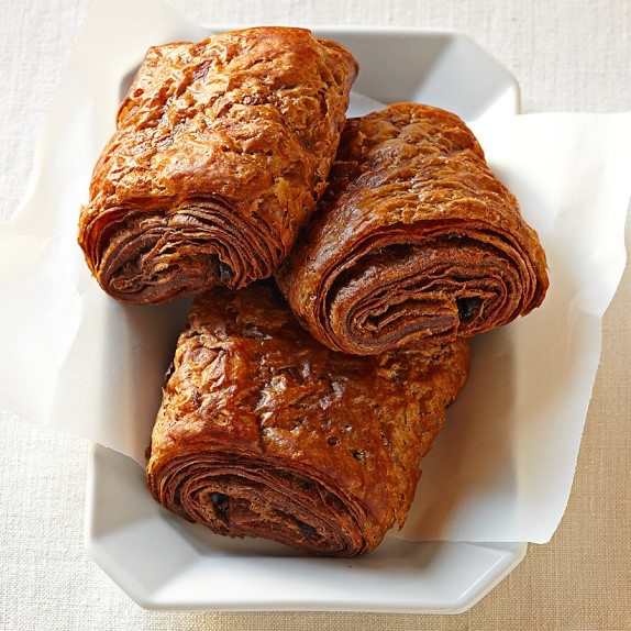 Chocolate-Chocolate Croissants, Set of 15