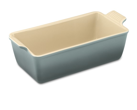 Le Creuset Heritage Stoneware Loaf Pan, Small, Ocean