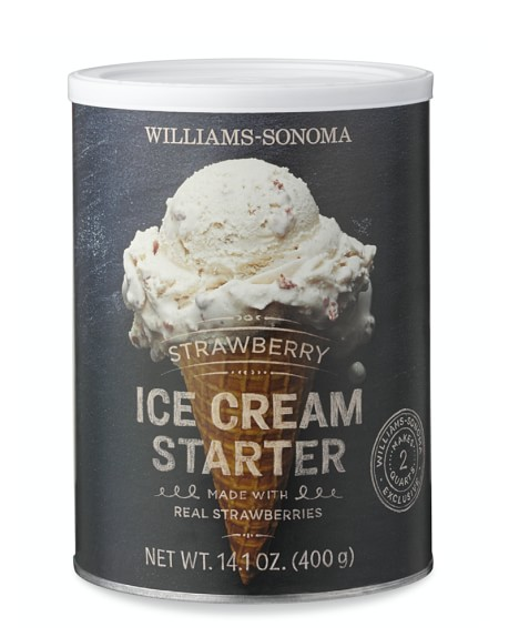 Williams Sonoma Strawberry Ice Cream Starter
