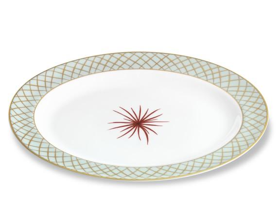 Bernardaud Etoiles Oval Platter