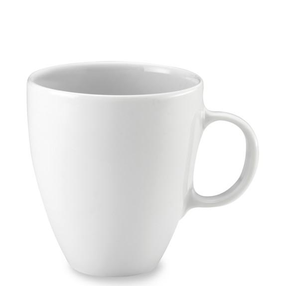 Pillivuyt Coupe Porcelain Mugs, Set of 4