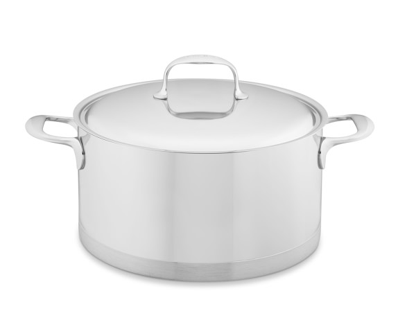 Demeyere Atlantis Stainless-Steel Sauce Pot, 9-Qt.
