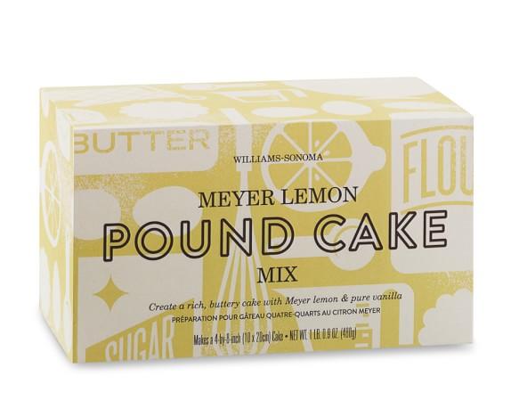 Meyer Lemon Pound Cake Williams Sonoma