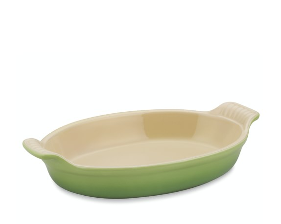 Le Creuset Heritage Stoneware Oval Gratin, 9 1/2