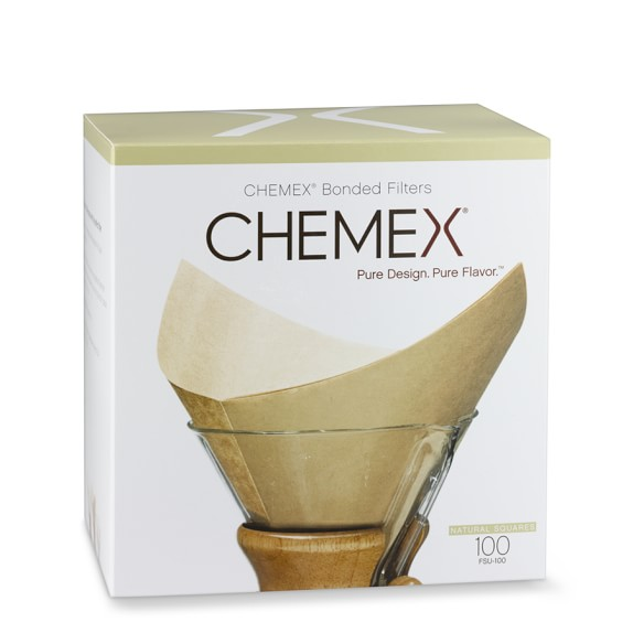 Chemex Unbleached Square Coffee Filters
