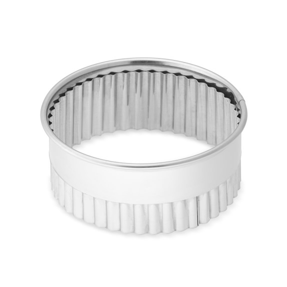 Stainless-Steel Fluted Cookie Cutter