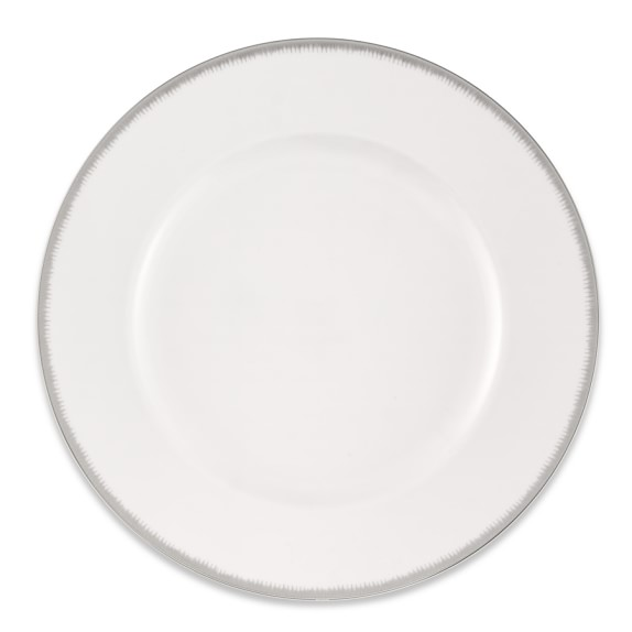Williams Sonoma Wedgwood Silver Aster Dinner Plate
