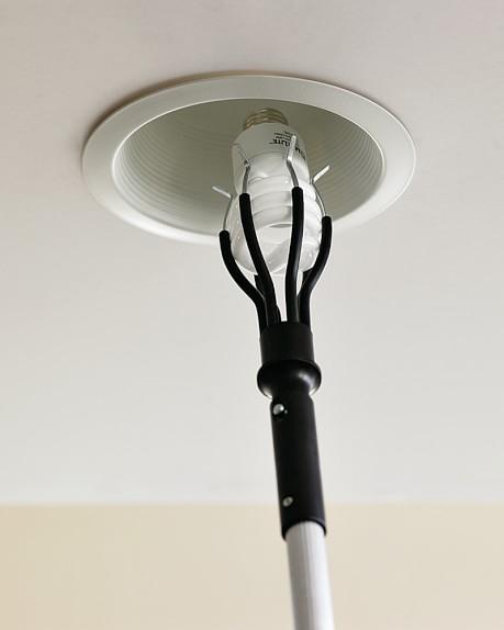 Light Bulb Changer Attachment