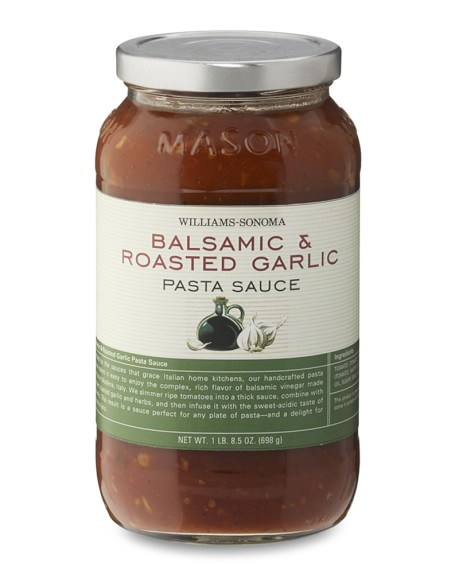 Williams Sonoma Pizza Sauce, Balsamic Roasted Garlic