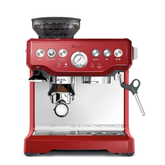 Breville Coffee Maker Program : Breville Barista Express Espresso Maker Williams Sonoma