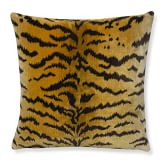 Scalamandre Tiger Pillow Cover, 20