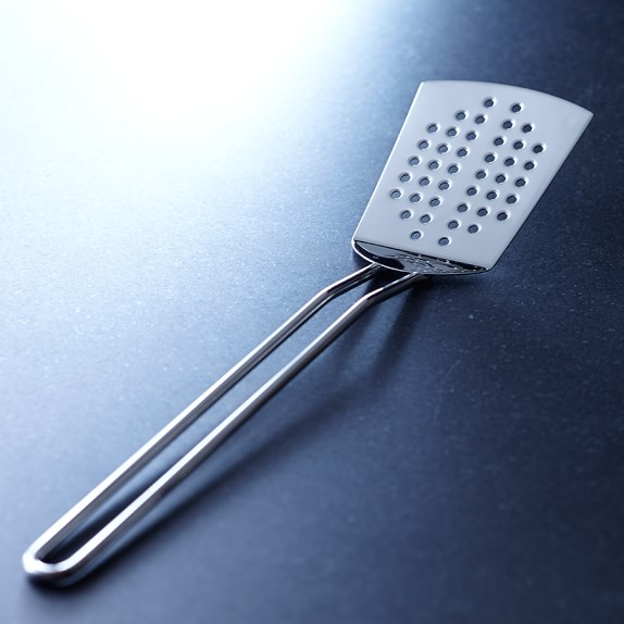 Williams Sonoma Open Kitchen Stainless-Steel Slotted Spatula