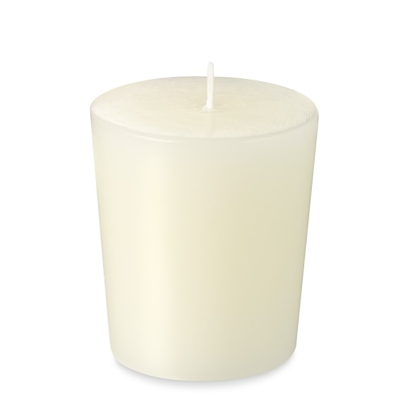 Votive Candles, Set of 12, Ivory