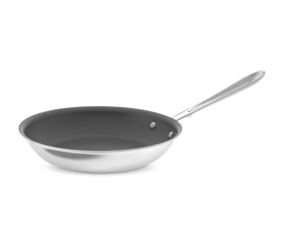 All-Clad d5 Stainless-Steel Nonstick Fry Pan, 10""