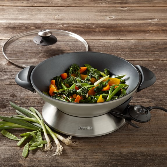 Breville Stainless-Steel Electric Wok, Model # BEW600XL