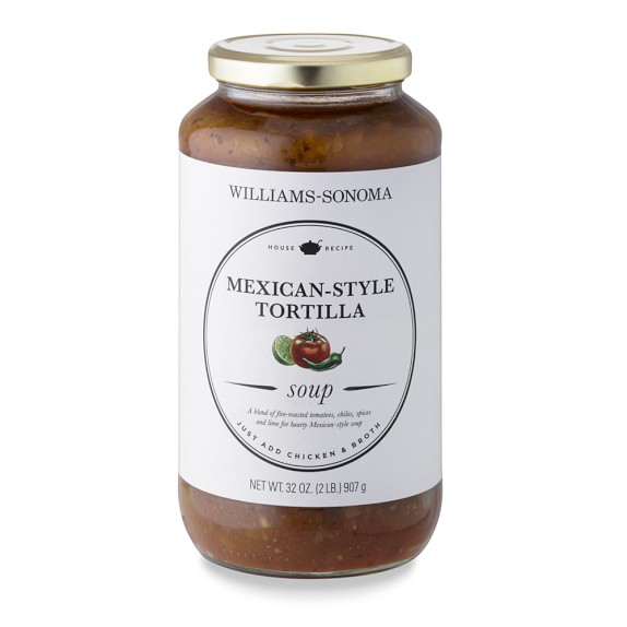 Williams Sonoma Mexican Style Tortilla Soup Starter