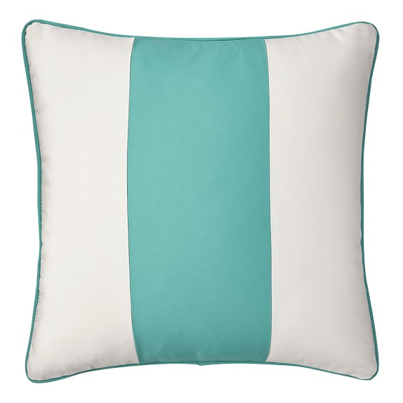 Outdoor Wide Stripe Pillow Cover, 20