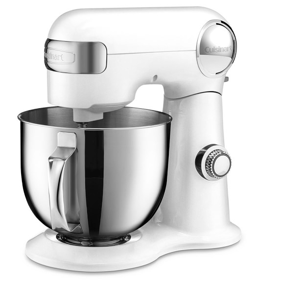 Cuisinart Precision Master 5 1/2-Qt. Stand Mixer, White