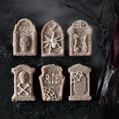 Nordic Ware Halloween Tombstone Cakelet Pan Williams Sonoma