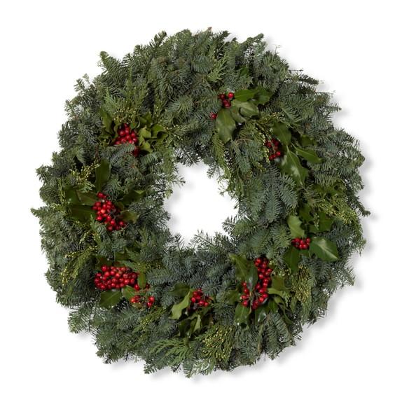 Holly Wreath, 12