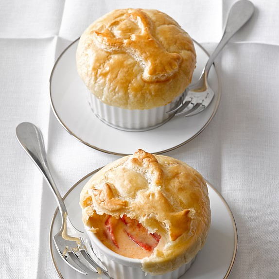 Lobster Pot Pies, Set of 4